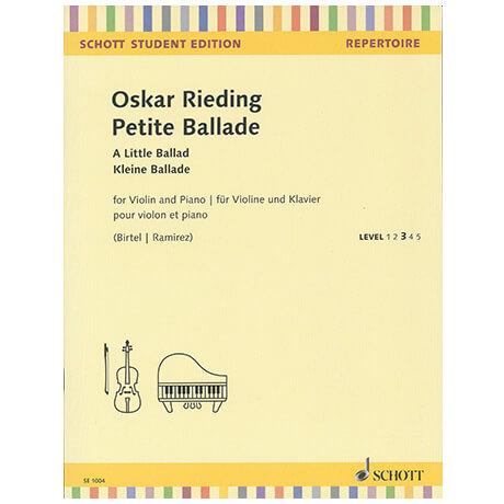 Rieding, O.: Petite Ballade