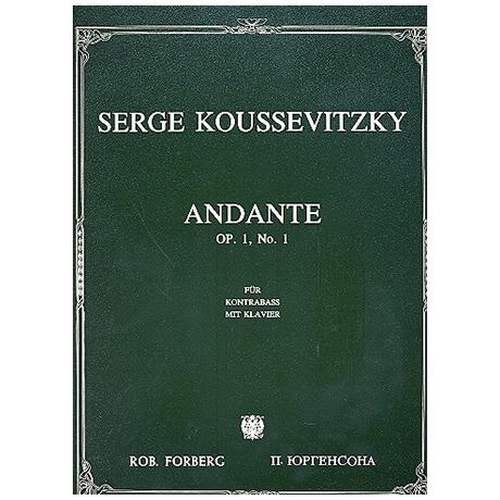 Koussevitzky, S.: Andante Op.1/1