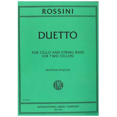 Rossini, G. A.: Duetto D-Dur