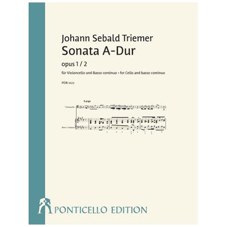 Triemer, J. S.: Sonata Op. 1/2 A-Dur