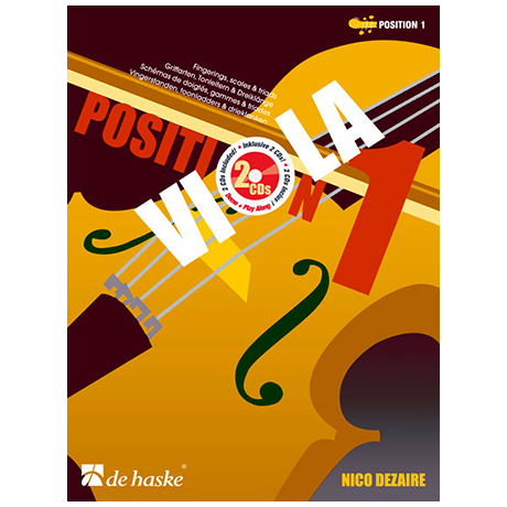 Dezaire, N.: Viola Position 1 (+2 CD's)