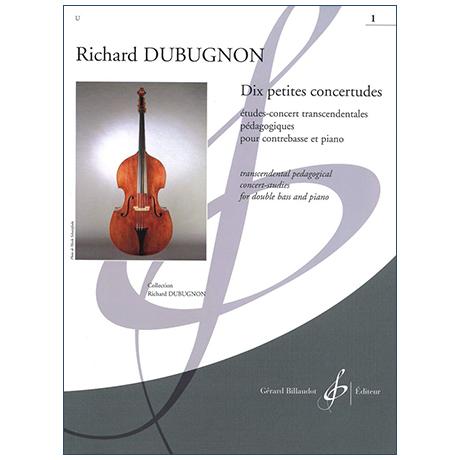 Dubugnon, R.: Dix petites concertudes Vol. 1 (Nr. 1-5)
