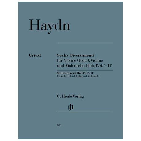 Haydn, J.: Sechs Divertimenti Hob. IV:6*–11*