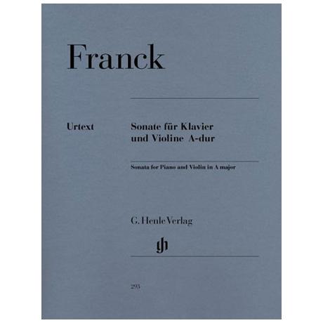 Franck, C.: Sonate A-Dur Urtext