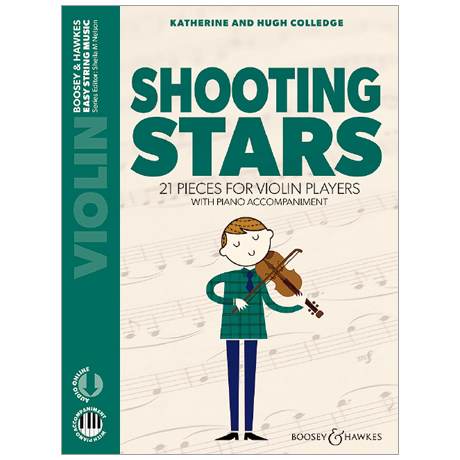 Colledge, K. & H.: Shooting Stars for Violin (+Online Audio)