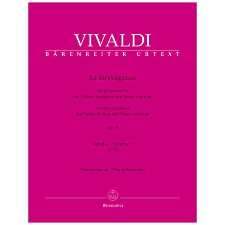 Vivaldi, A.: La Stravaganza Op. 4 – 12 Violinkonzerte Bd. 1 I-VI