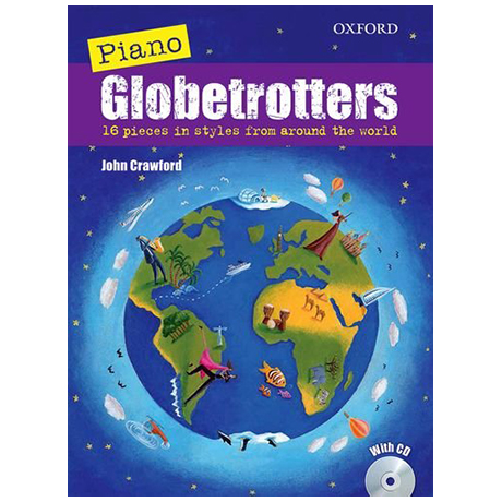 Piano Globetrotters (+CD)