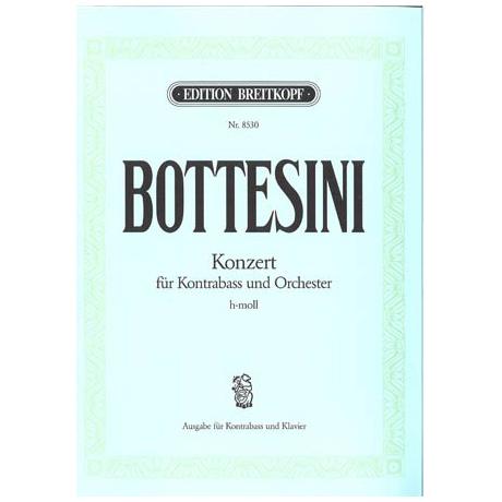 Bottesini, G.: Konzert h-moll für Kontrabass und Orchester