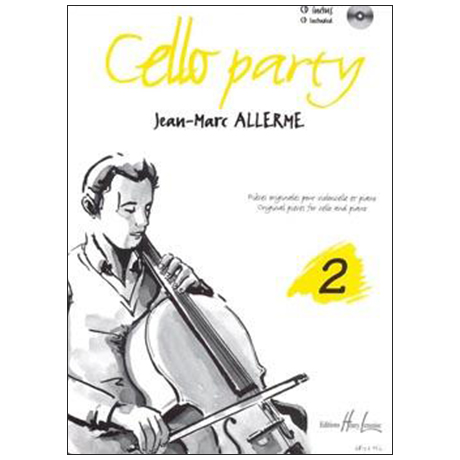 Allerme, J.-M.: Cello Party Band 2 (+CD)