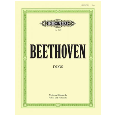 Beethoven, L.v.: 3 Duos