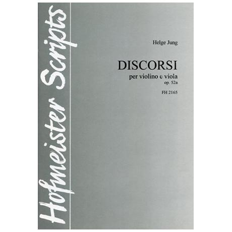 Jung, H.: Discorsi Op. 52a