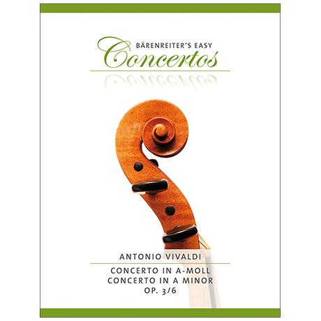 Vivaldi, A.: Violinkonzert Nr. 6 Op. 3 a-Moll