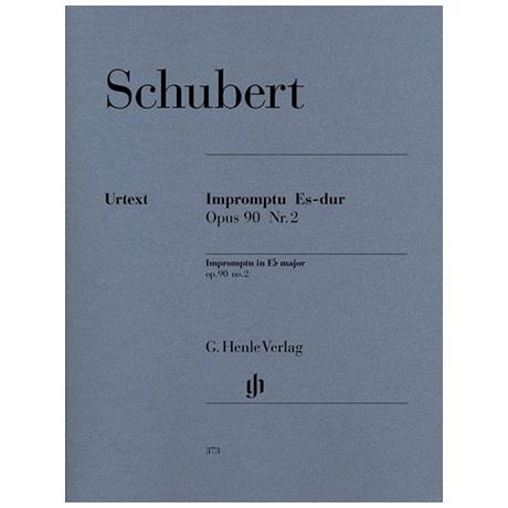 Schubert, F.: Impromptu Es-Dur Op. 90,2 D 899