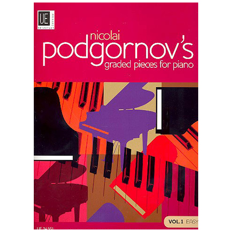 Podgornov, N.: Graded Pieces for Piano Band 1