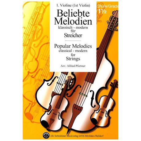 Beliebte Melodien: klassisch bis modern Band 2 – Violine 1
