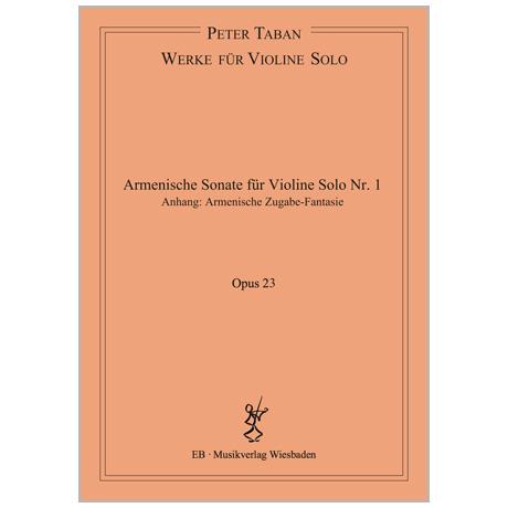Taban, P.: Armenische Sonate Nr. 1 Op. 23