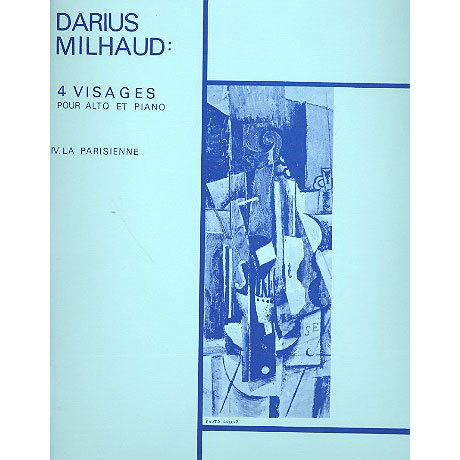 Milhaud, D.: 4 Visages No.4: La Parisienne