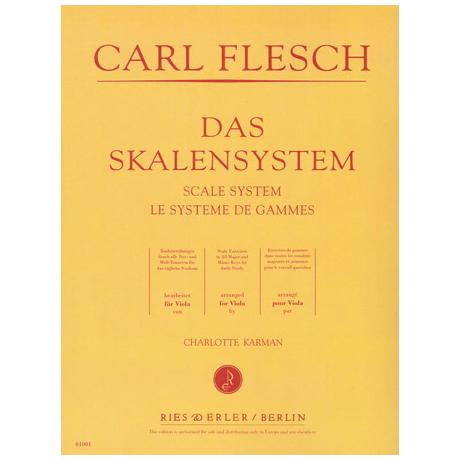 Flesch, C.: Das Skalensystem für Viola
