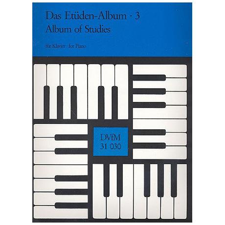 Das Etüden-Album für Klavier Heft 3