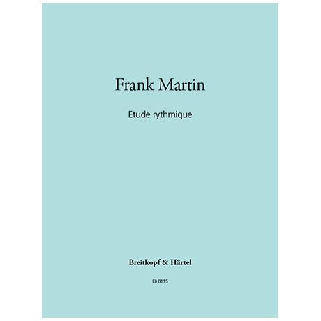 Martin, Fr.: Etude rythmique