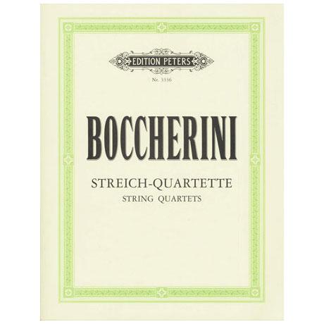 Boccherini, L.: 9 Streichquartette op. 6/6, 8/5, 10/2, 10/6, 27/2, 32/2, 33/5, 33/6, 39/1