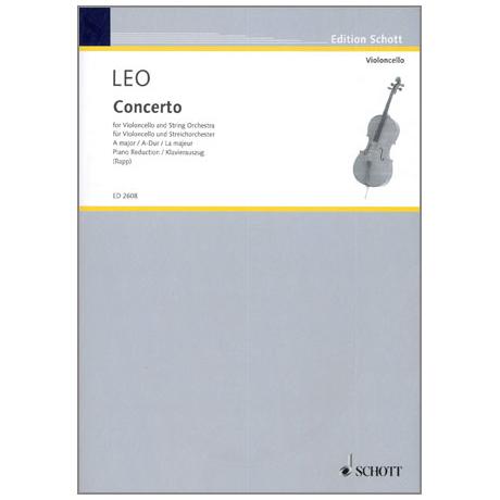 Leo, L.: Violoncellokonzert A-Dur