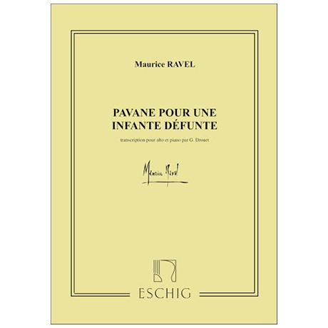 Ravel, M.: Pavane pour une infante défunte