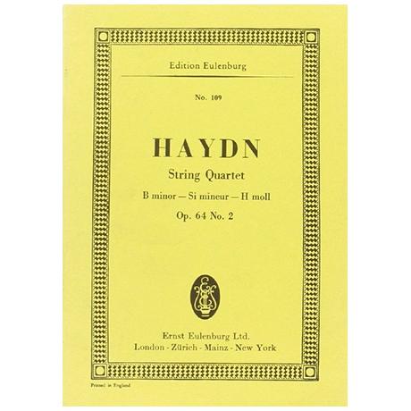 Haydn, J.: Streichquartett Op. 64/2 Hob. III:68 h-Moll