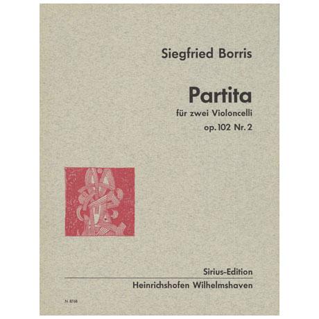 Borris, S.: Partita Op. 102/2