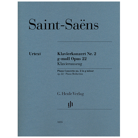 Saint-Saëns, C.: Klavierkonzert Nr. 2 Op. 22 g-Moll