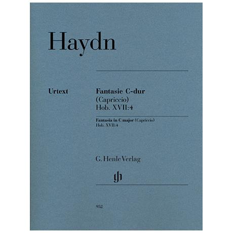 Haydn, J.: Fantasie C-Dur (Capriccio) Hob. XVII: 4