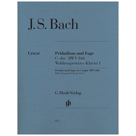 Bach, J.S.: Präludium und Fuge C-Dur BWV 846