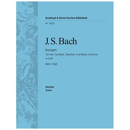 Bach, J. S.: Cembalokonzert a-Moll BWV 1065
