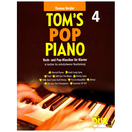 Bergler, T.: Tom's Pop Piano 4