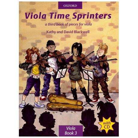 Blackwell, K. & D.: Viola Time Sprinters - Band 3 (+CD)