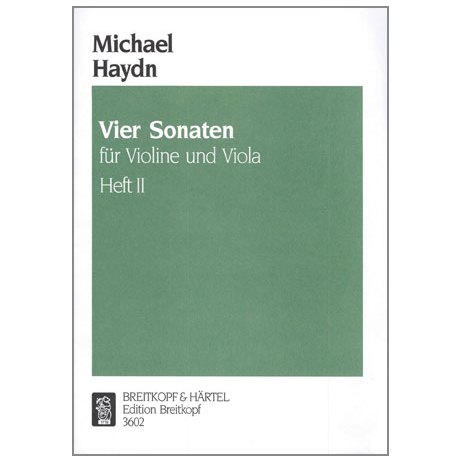 Haydn, M.: 4 Sonaten Band 2 (Nr.3-4)