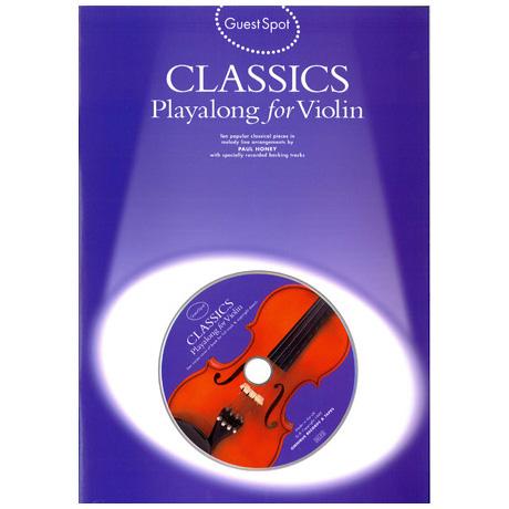 Classics Playalong For Violin (+CD)