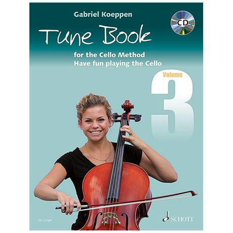 Koeppen, G.: Cello Method Tune Book 3 (+CD)