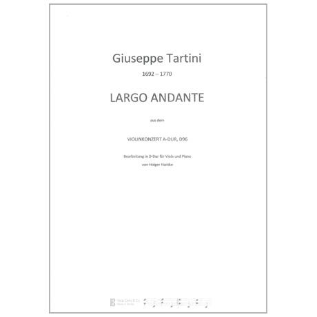 Tartini, G.: Largo Andante D-Dur nach D. 96