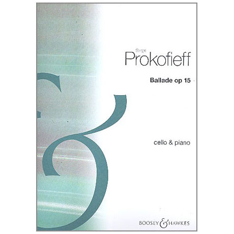 Prokofjew, S.: Ballade Op. 15