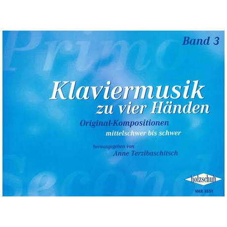 Terzibaschitsch: Klaviermusik zu vier Händen Band 3