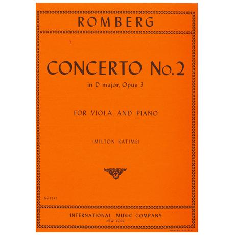 Romberg, B.: Violakonzert Nr. 2 Op. 3D-Dur