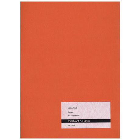 Baur, J.: Sonate (1961/62)