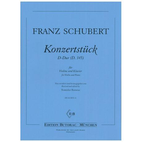 Schubert, F.: Violinkonzertstück D 345 D-Dur