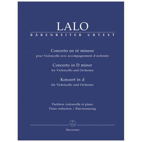 Lalo, E.: Violoncellokonzert in d-Moll