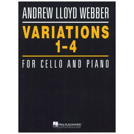 Lloyd Webber, A.: Variations 1-4 über ein Thema von Paganini
