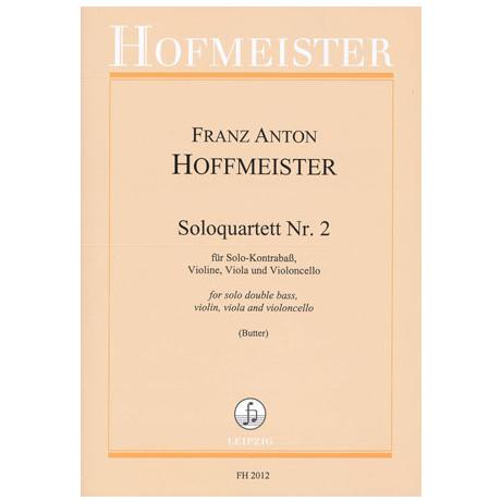 Hoffmeister, F.A.: Solo-Quartette Nr.2