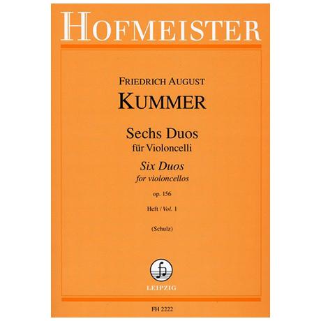 Kummer, F.A.: 6 Duos Op.156 Band 1