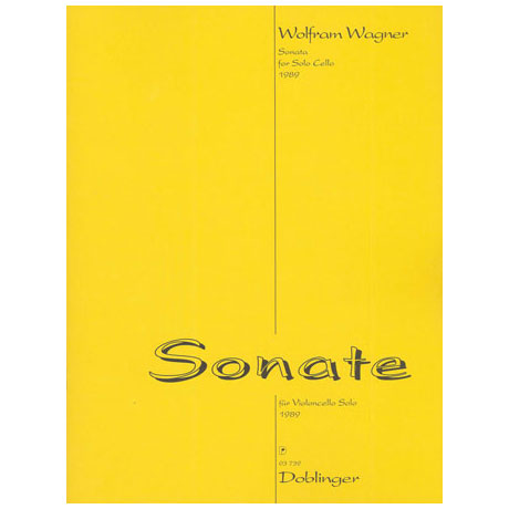 Wagner, W.: Violoncellosonate