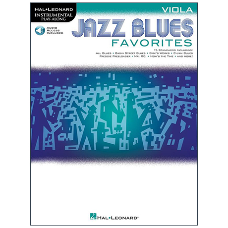 Jazz Blues Favorites for Viola (+ Online Audio)
